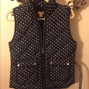 Small J Crew vest, great used condition